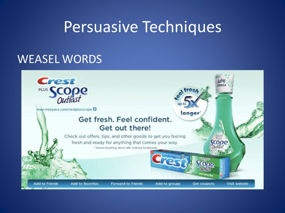 weasel words sales and advertising 6 ways weasel words sabotage advertising  an advertiser's credibility, trigger  complaints, and water down sales pitches  advertising copy home page.