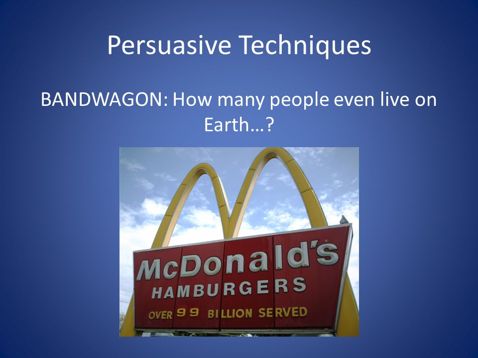 Advertising and Persuasive Techniques - ppt video online ...