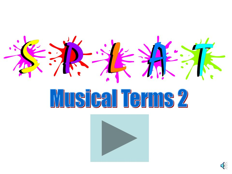 Musical Terms 2
