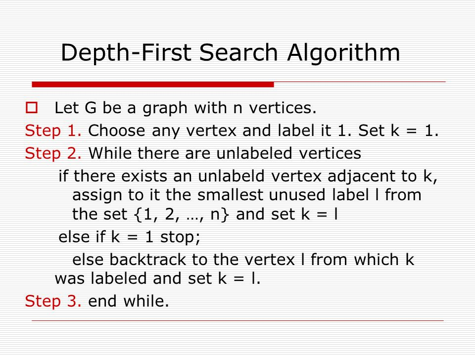 Depth First Search (DFS) Program in C - The Crazy Programmer