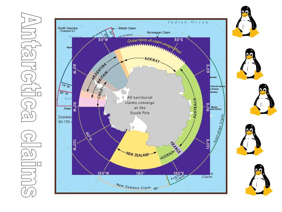 Antarctica claims