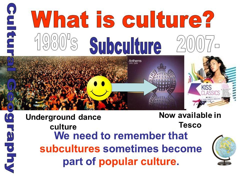 Underground dance culture