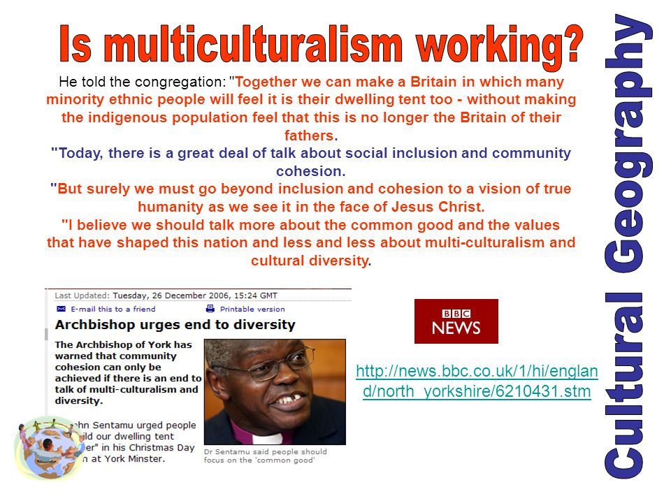 Is multiculturalism working
