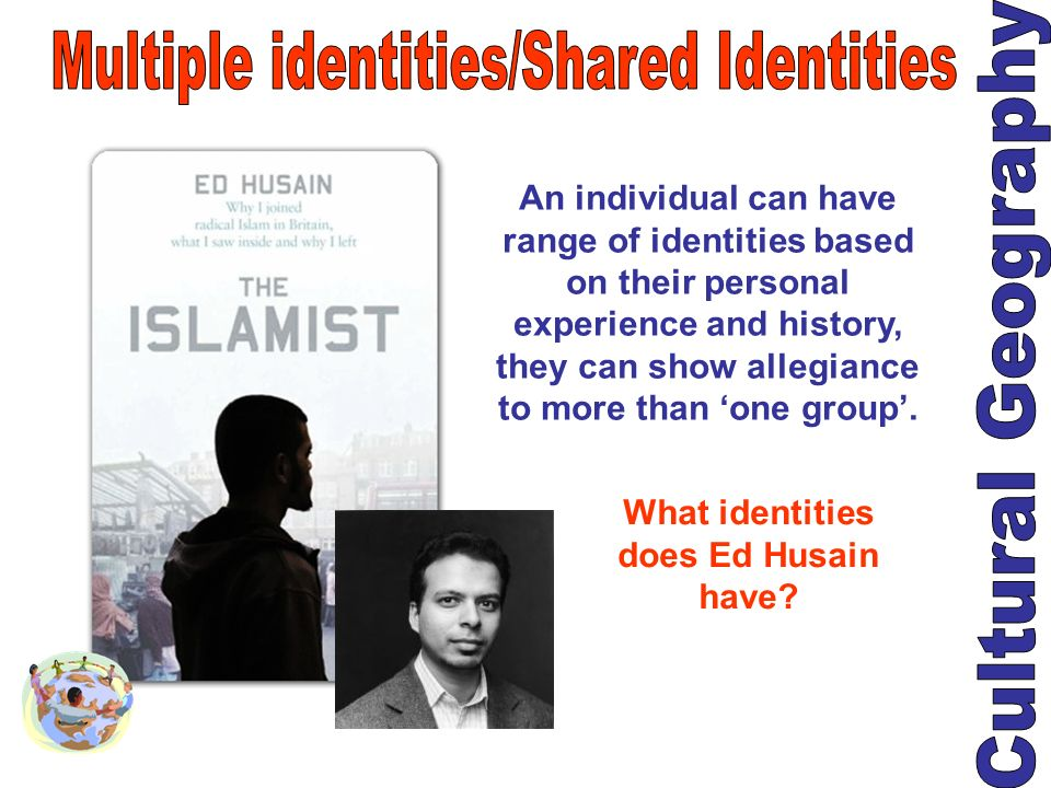What identities does Ed Husain have