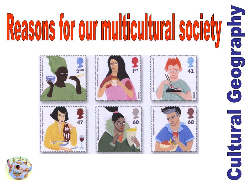 Reasons for our multicultural society