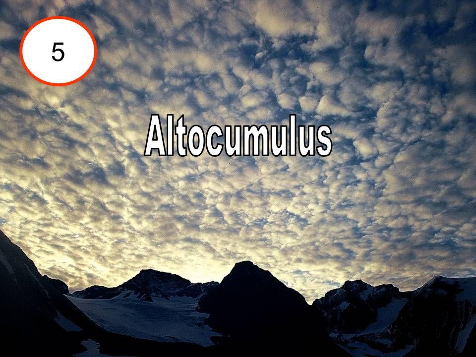 5 Altocumulus