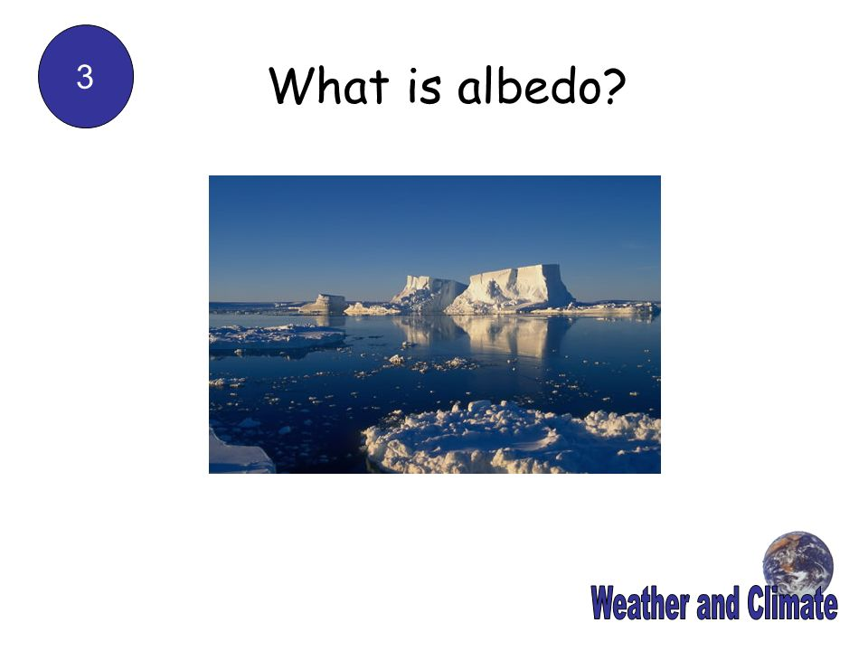 3 What is albedo Weather and Climate