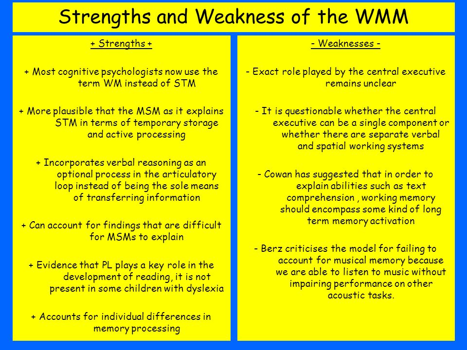 key metaphors strengths and weaknesses As i reach the end of exploring this travel agent/traveler metaphor, it is time to think and reflect about any of the strengths and weaknesses/difficulties that i have encountered during.