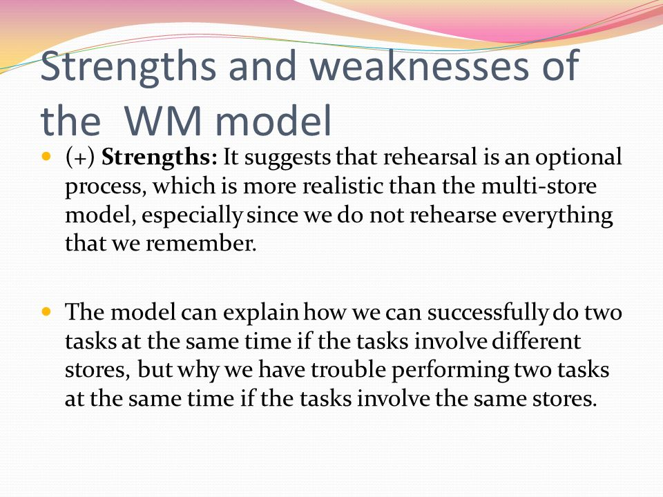 what are the strengths and limitations of the direct model Processing strengths and weaknesses chart processing chart: cobb county ieps © 2013 page 3 period visual processing auditory processing memory processing executive.
