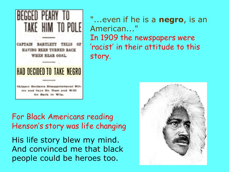 . even if he is a negro, is an American