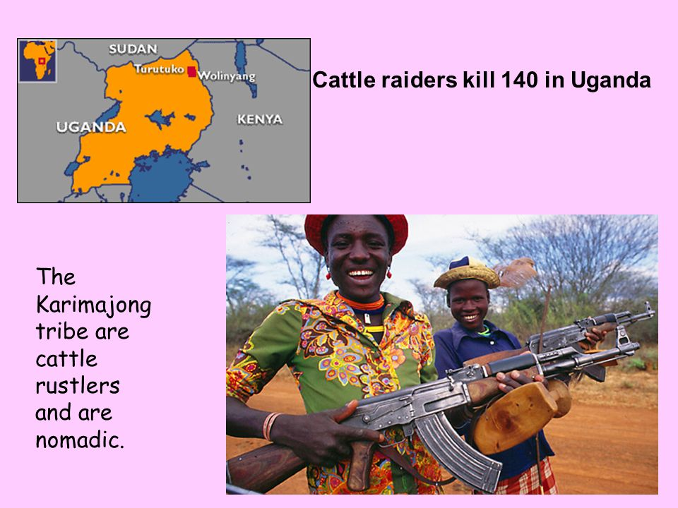 Cattle raiders kill 140 in Uganda