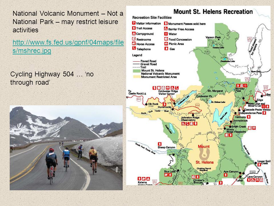 National Volcanic Monument – Not a National Park – may restrict leisure activities