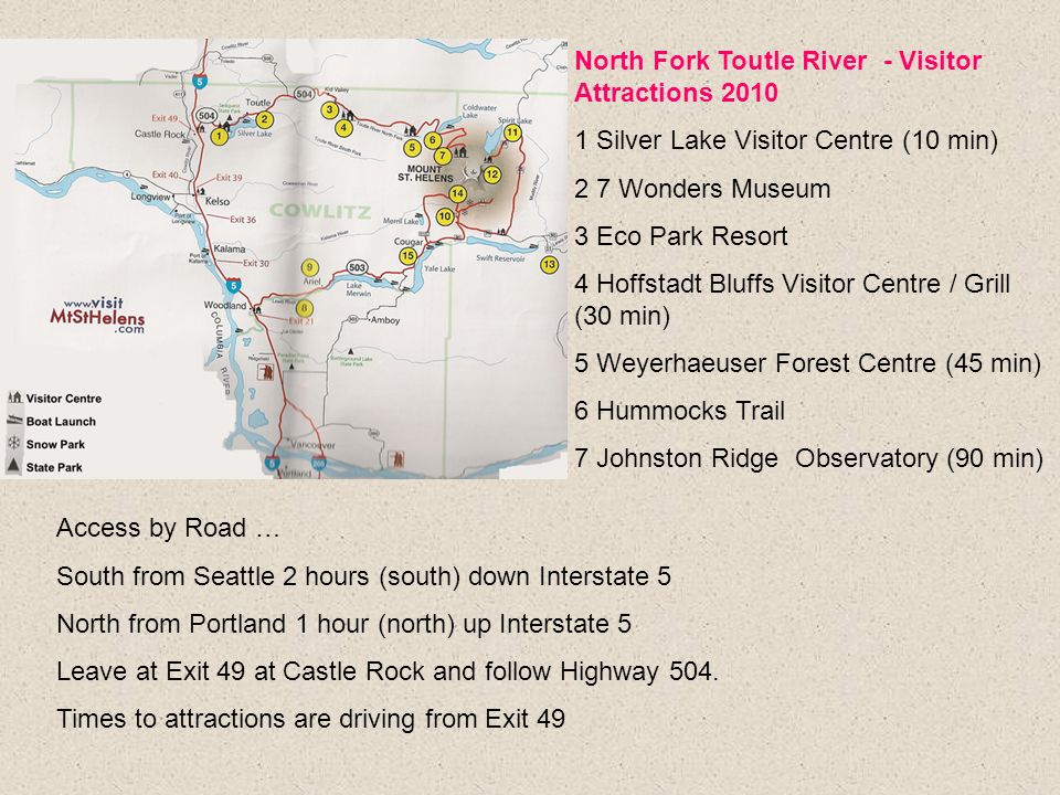 North Fork Toutle River - Visitor Attractions 2010
