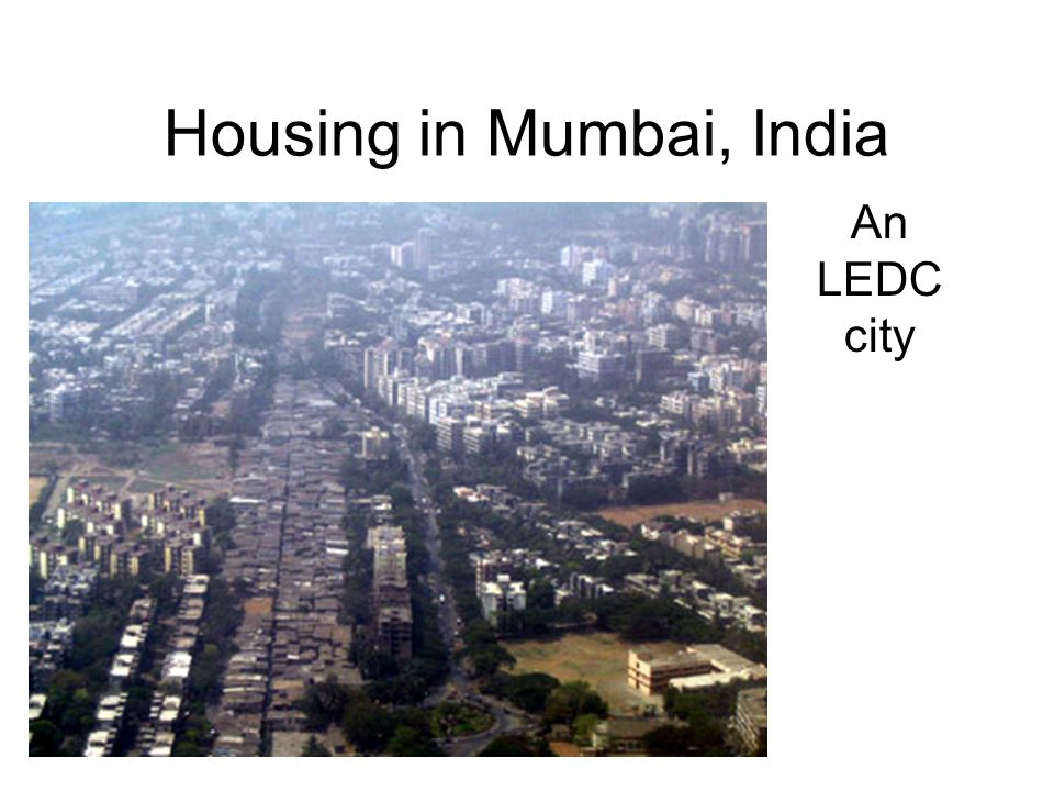 Housing in Mumbai, India