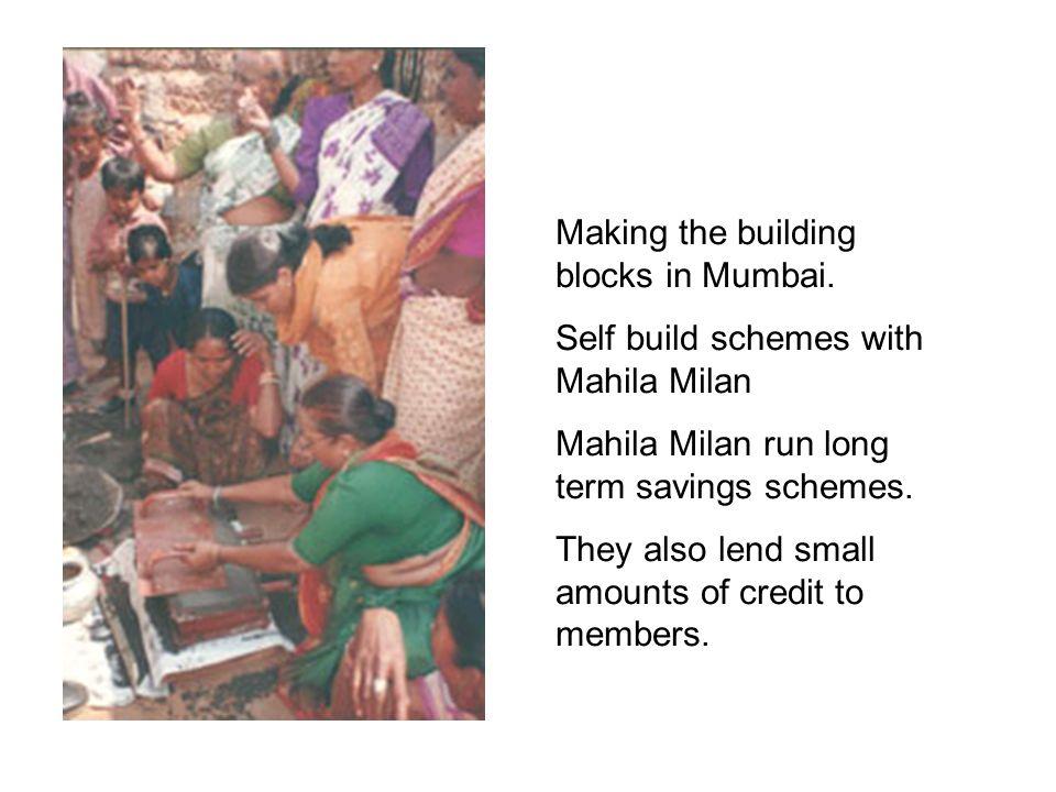 Making the building blocks in Mumbai.