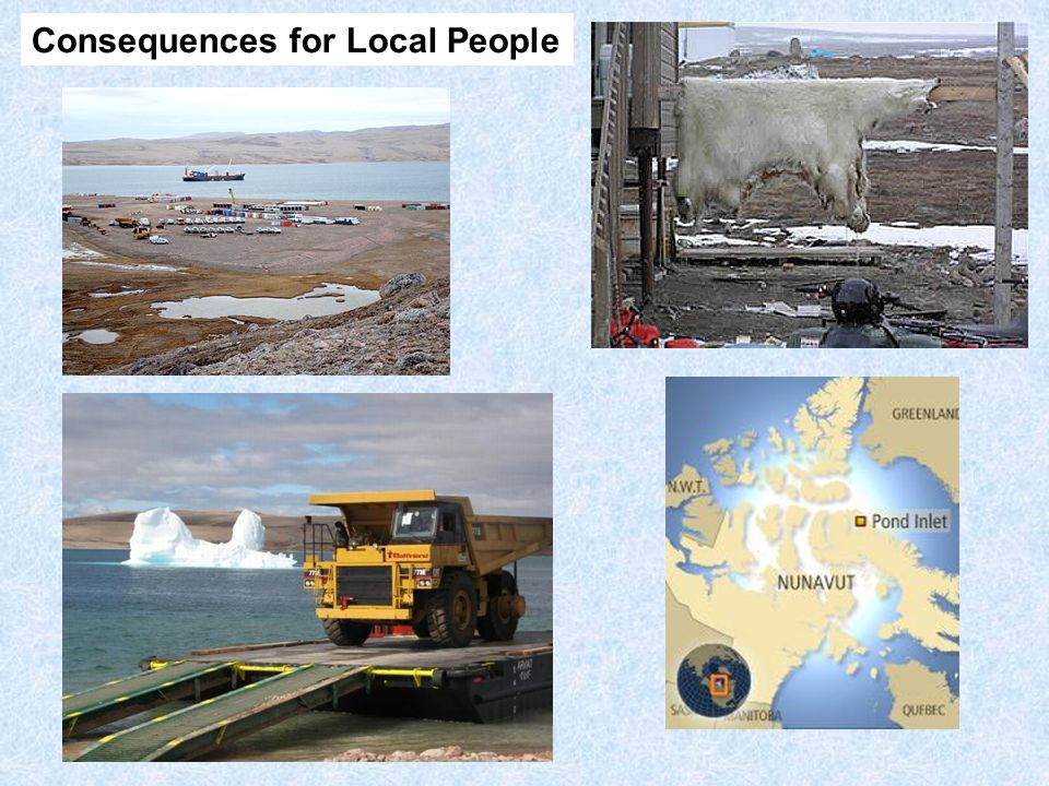 Consequences for Local People