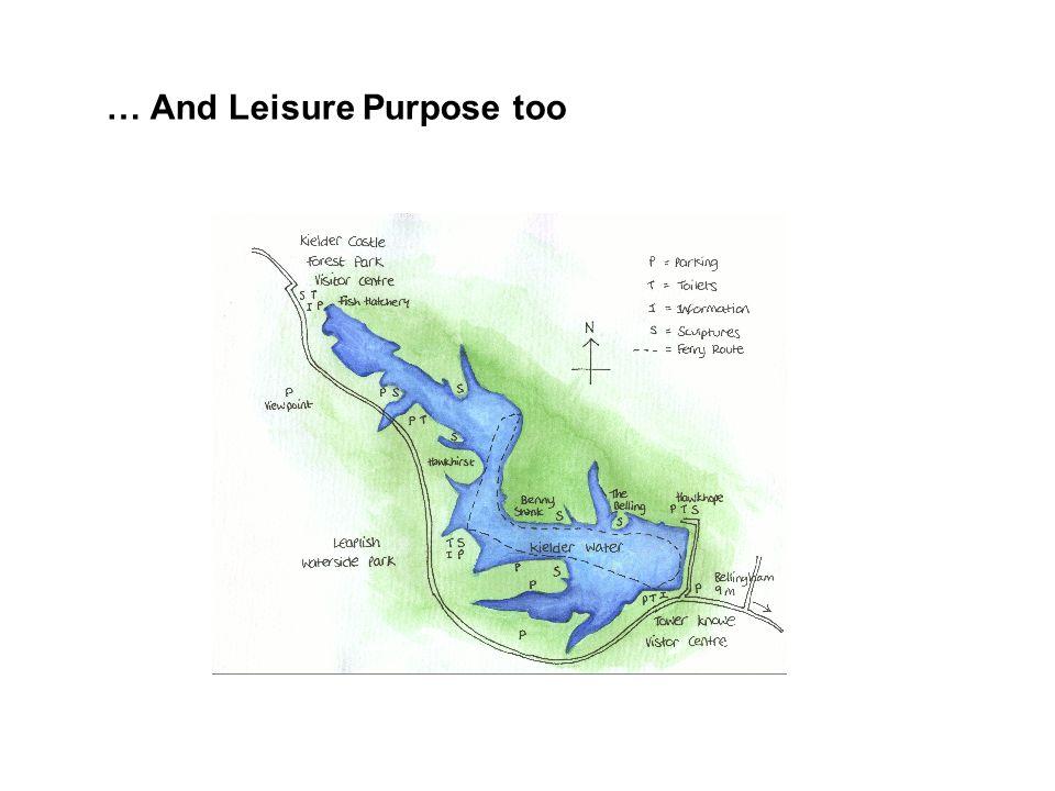 … And Leisure Purpose too