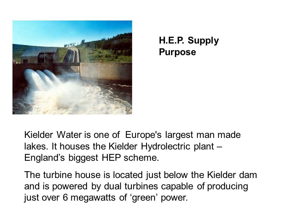 H.E.P. Supply Purpose