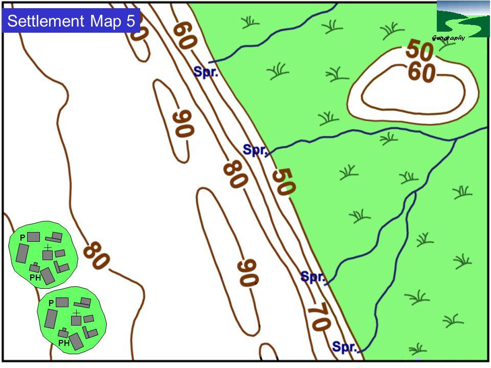 Settlement Map 5 P. PH. P. PH.