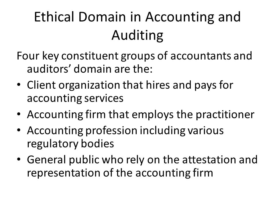 Ethical Standards for Management Accountants