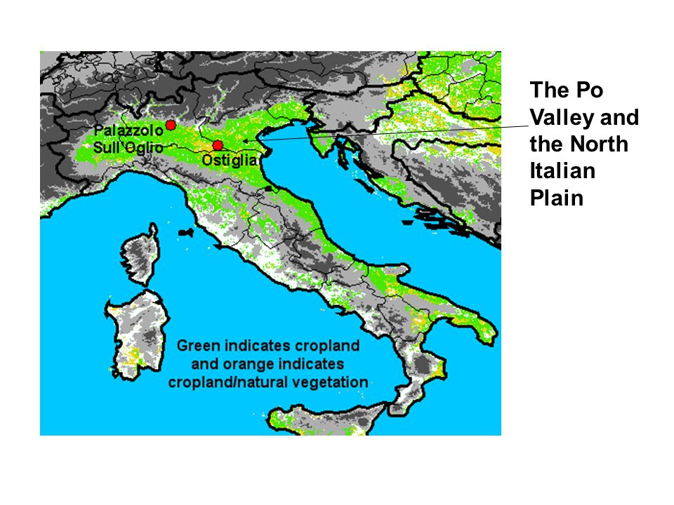 The Po Valley and the North Italian Plain