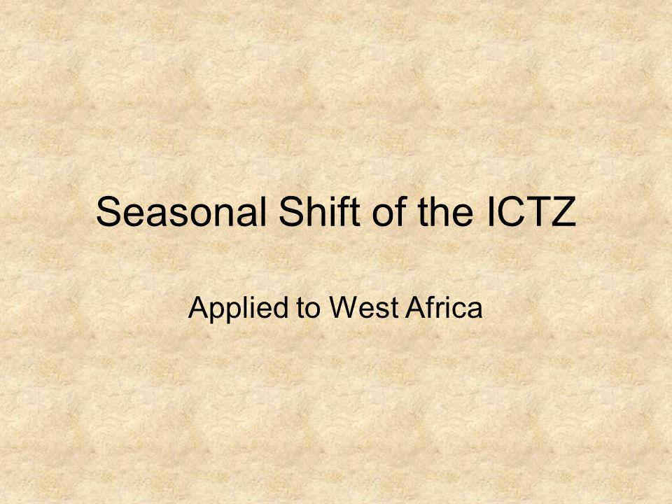 Seasonal Shift of the ICTZ