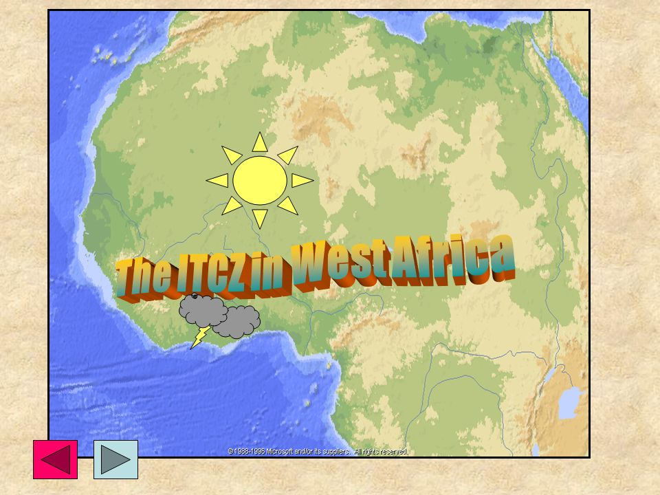 The ITCZ in West Africa