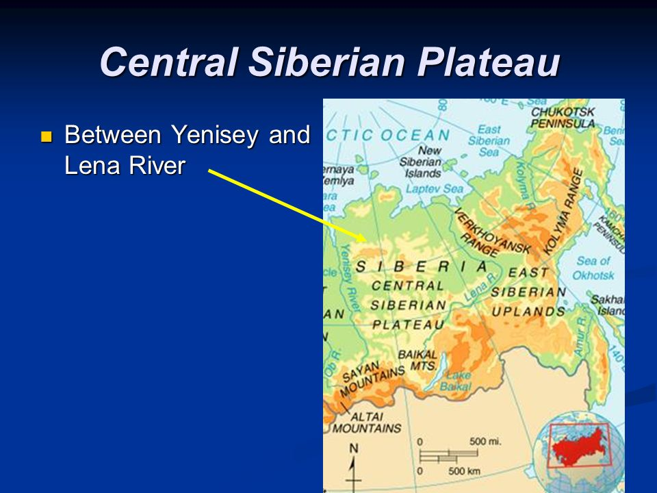 Physical Geography Of Eurasia The Land Ppt Video Online Download - Lena river on world map