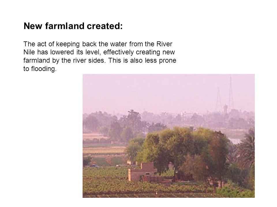New farmland created: