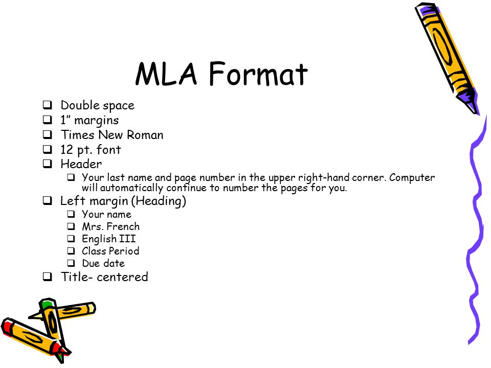 mla format band names