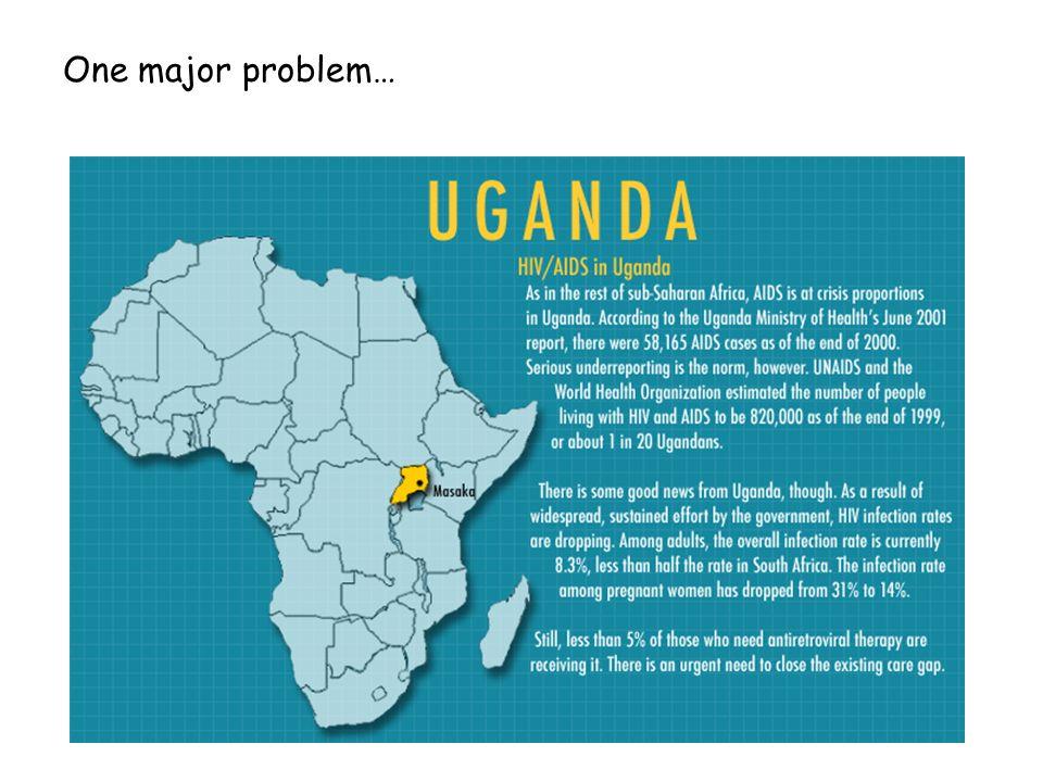 One major problem…