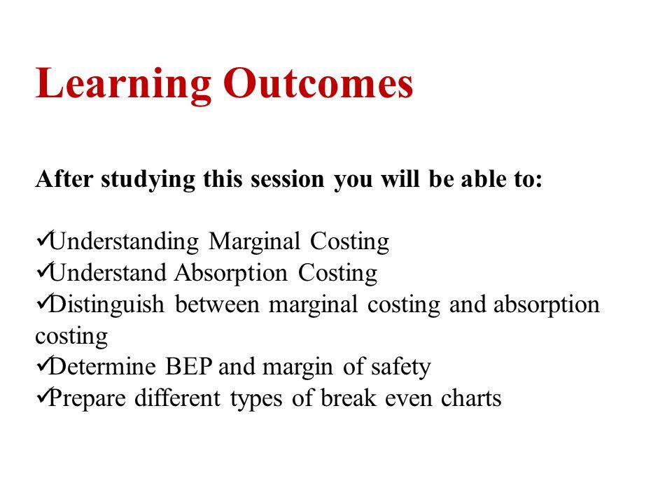 marginal costing and cvp analysis pdf