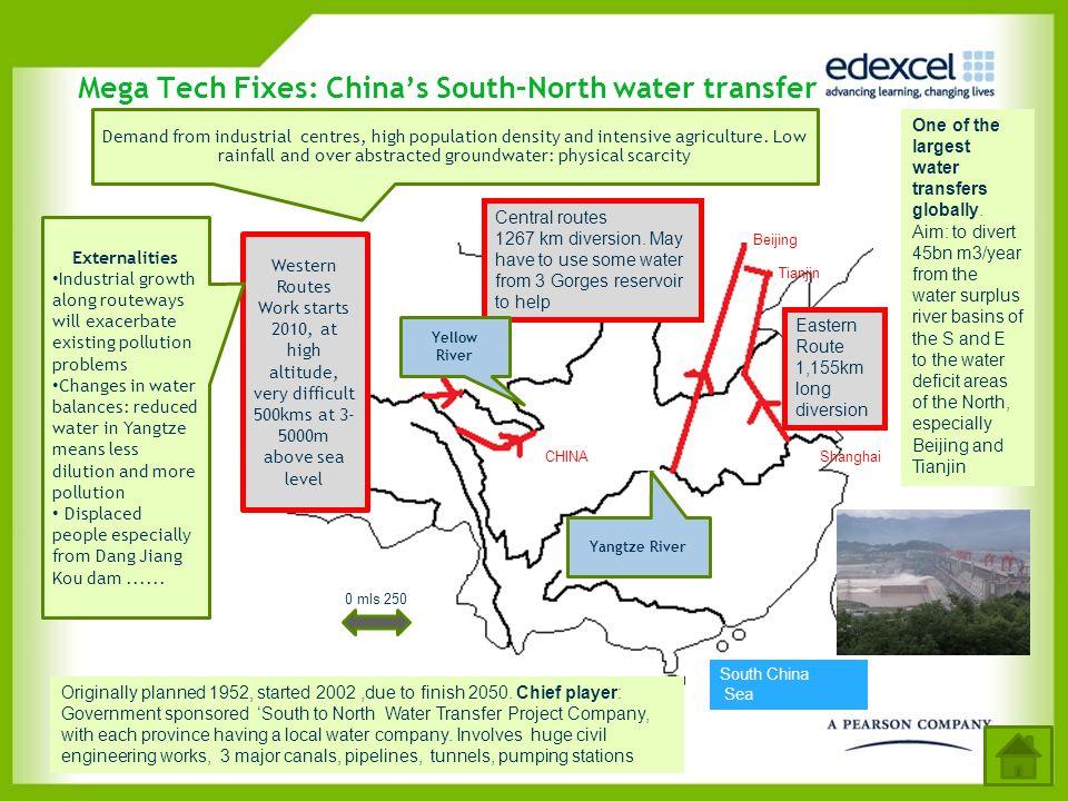 Mega Tech Fixes: China's South–North water transfer