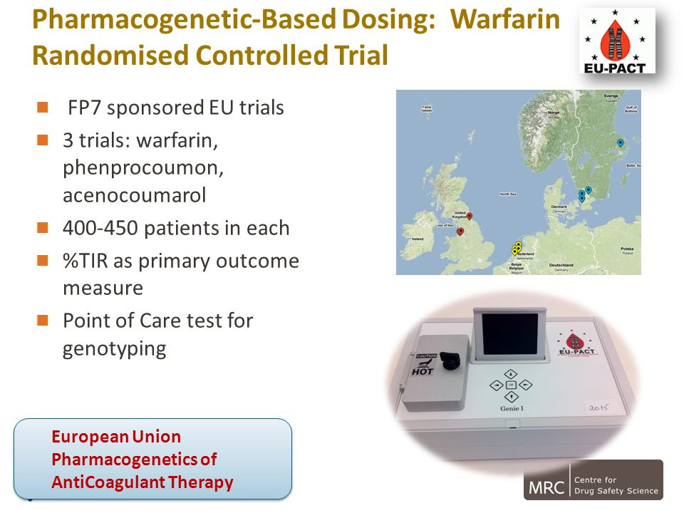 Pharmacogenetic-Based Dosing: Warfarin Randomised Controlled Trial
