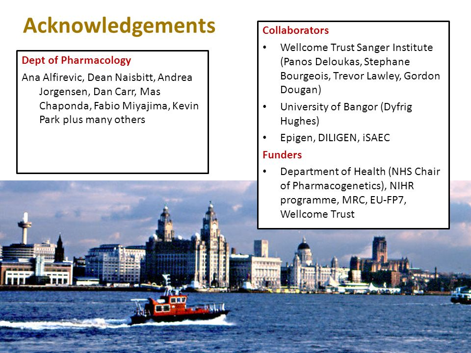 Acknowledgements Collaborators