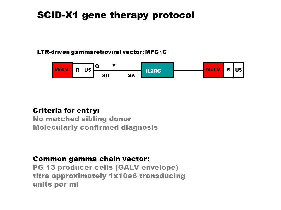SCID-X1 gene therapy protocol