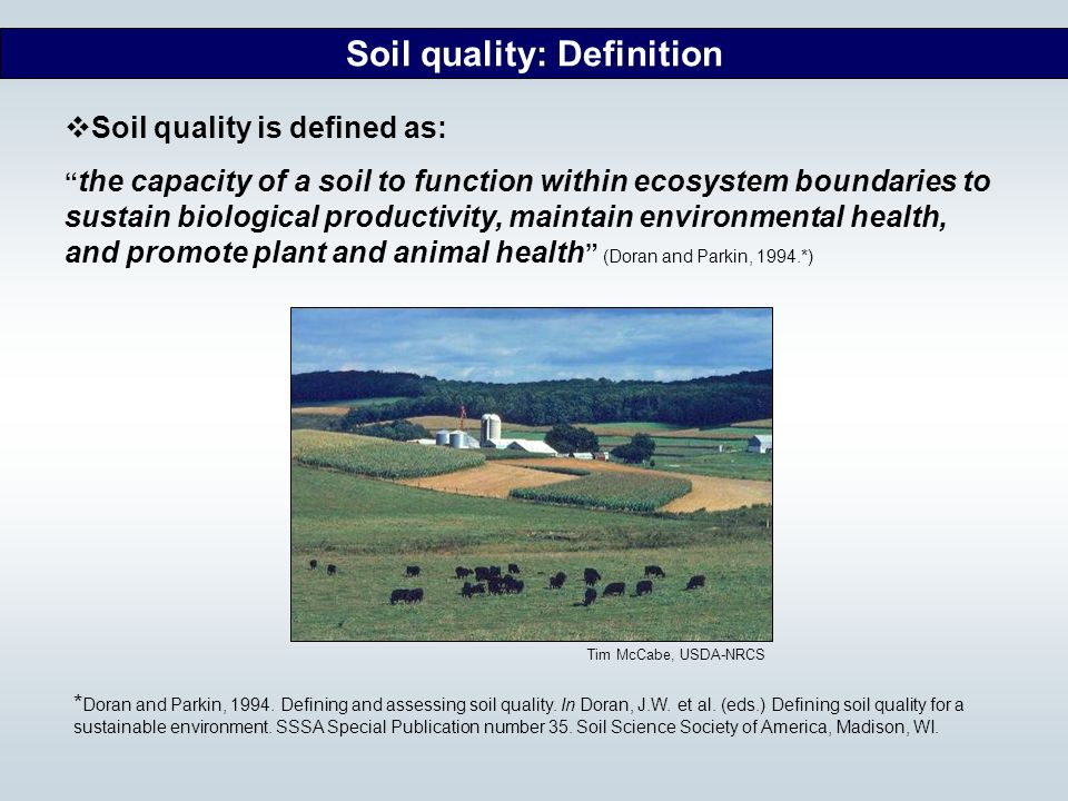 Mid atlantic nutrient management handbook ppt download for Soil quality indicators