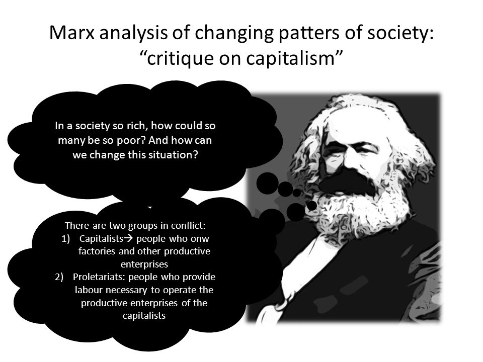 an analysis of changing society Understanding change: marx adapted this model to his analysis of social change, asserting that all changes in society arise in their analysis, change.