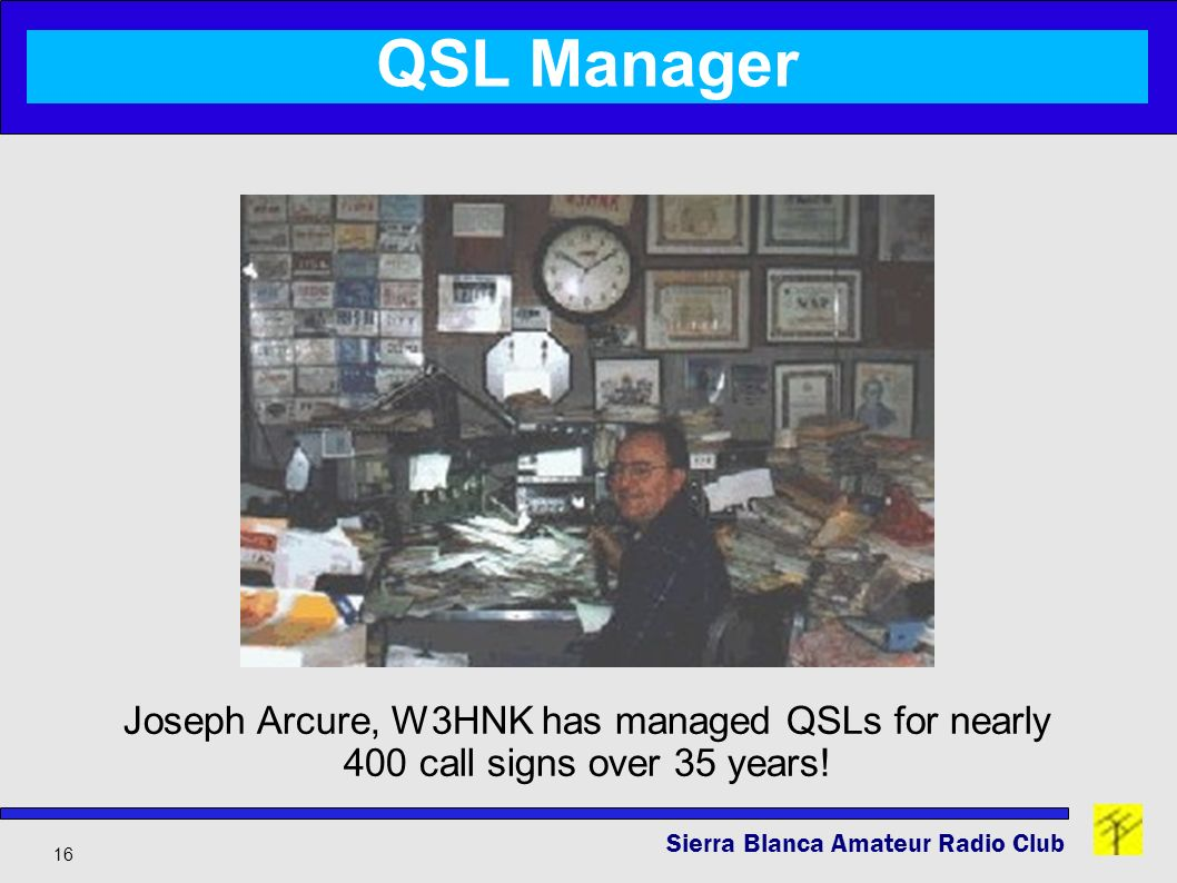 Tried and Tested Ways to Send & Receive QSL Cards - ppt download