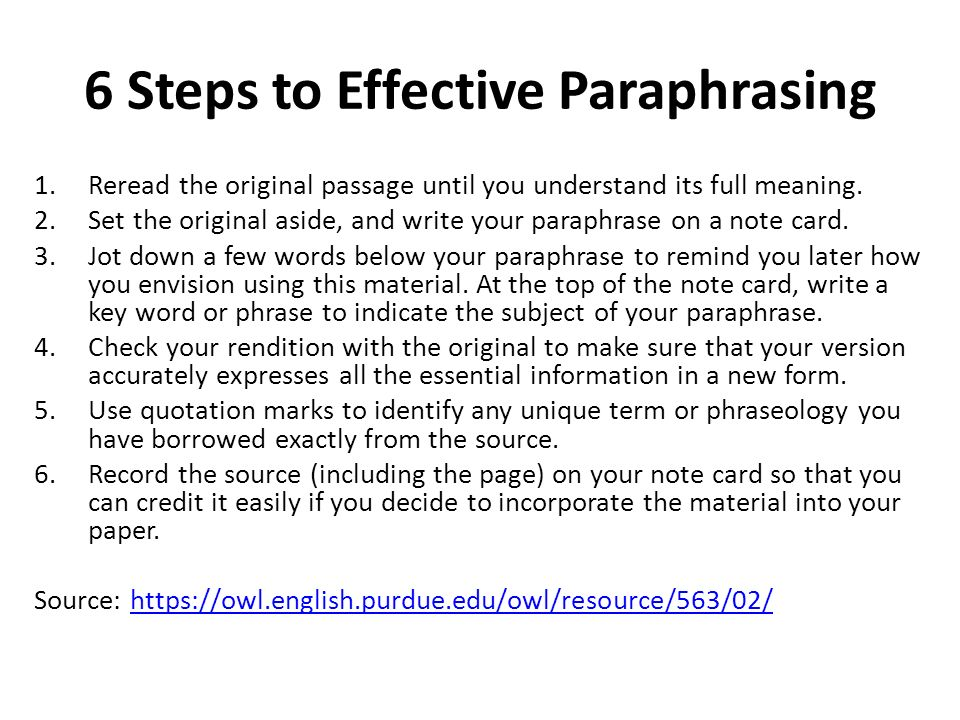 Summarizing paraphrasing and quoting note taking become effective
