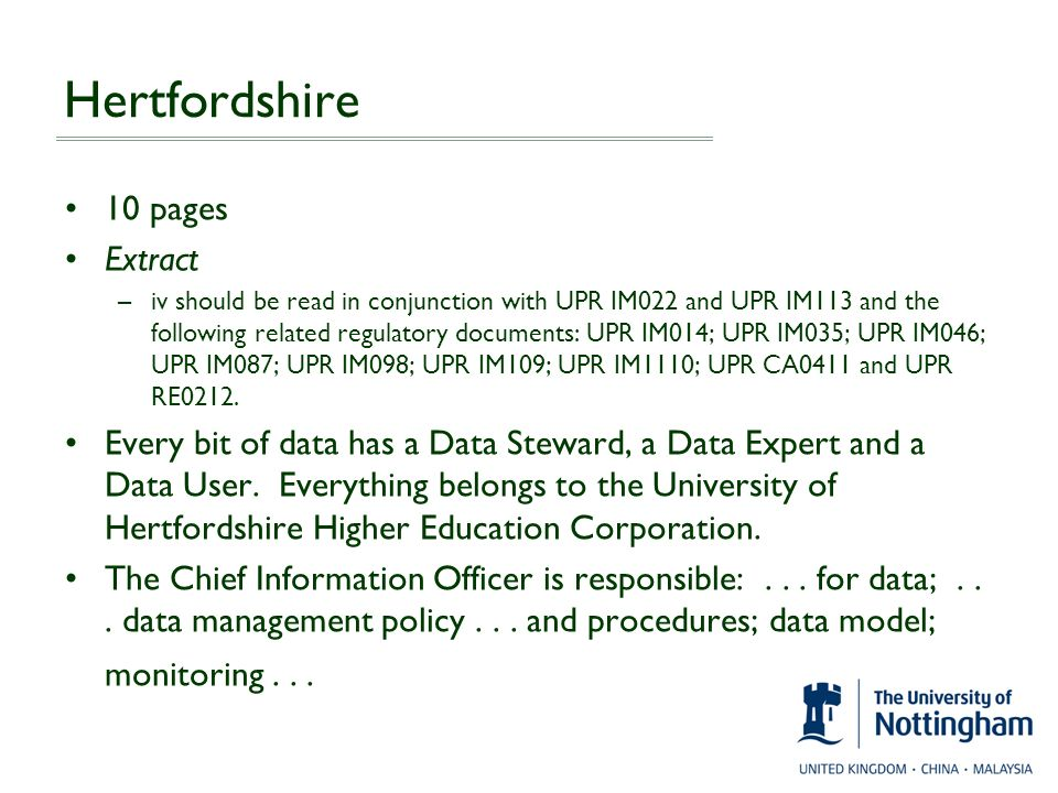 Hertfordshire 10 pages Extract