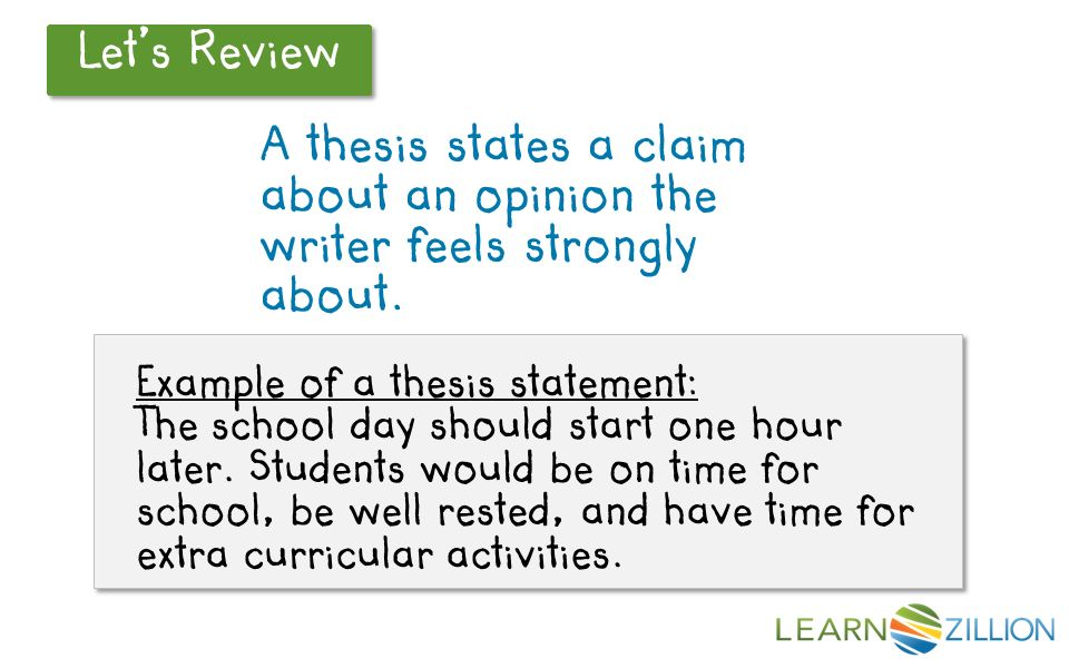 What should a thesis statement in a poetry analysis do
