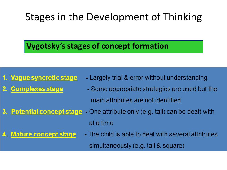 theories in cognitive development