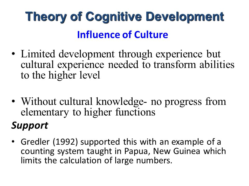 essays on piagets theory of cognitive development Cognitive development in adolescence: piaget's formal operations stage  chapter 14  kohlberg's theory of moral development in adolescence peers.