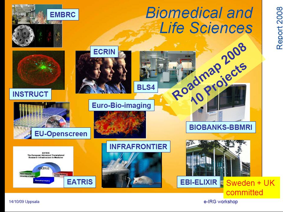Sweden + UK committed EBMRC – Marine Biology
