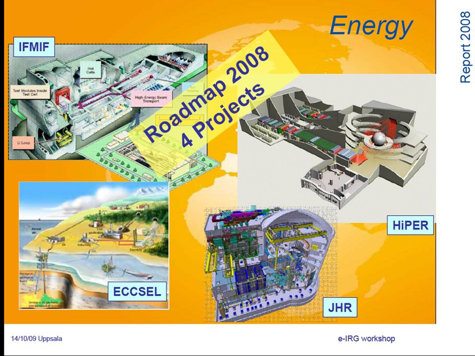 Jules Horowitz Reactor - Research reactor for materials studies and novel fuel development. CEA @ Cadarache (2014)