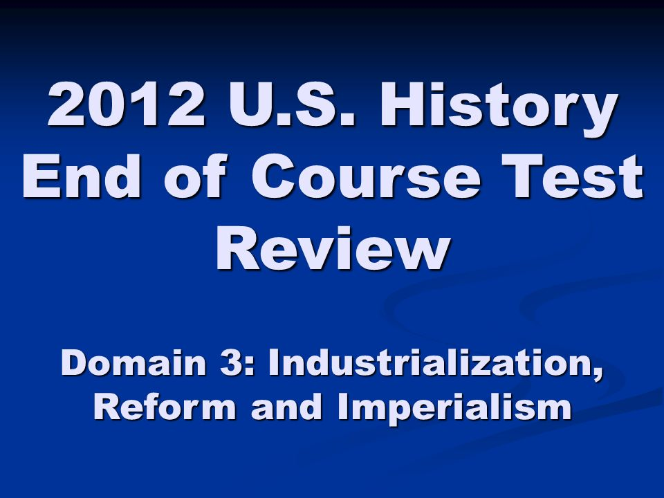 u.s. history industrialization thematic essay