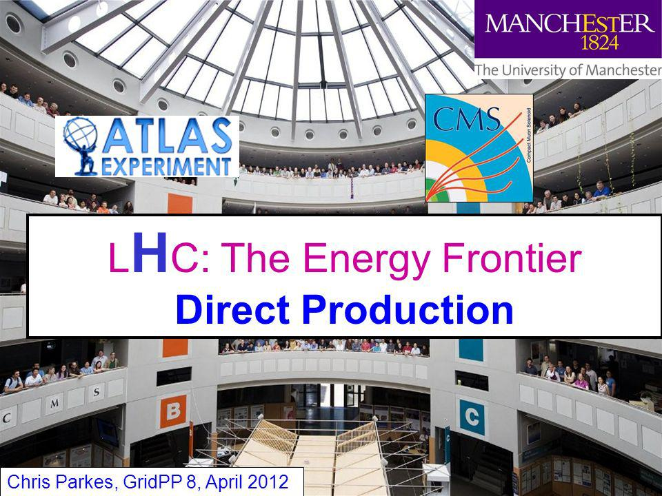 LHC: The Energy Frontier