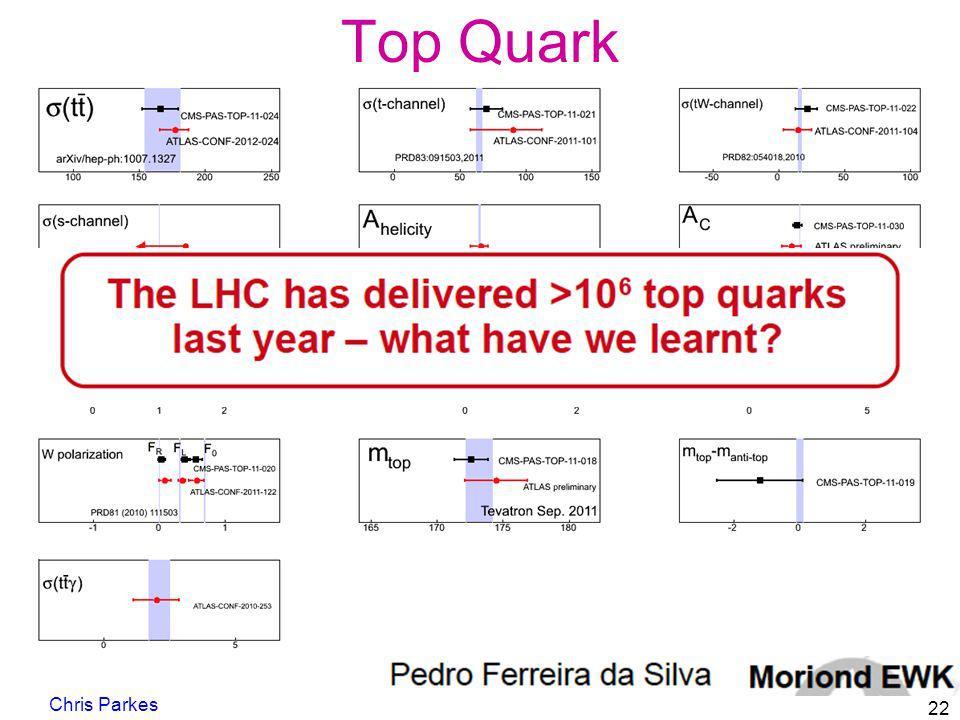 Top Quark Chris Parkes