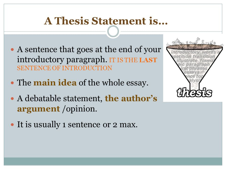 The end of history thesis argues that